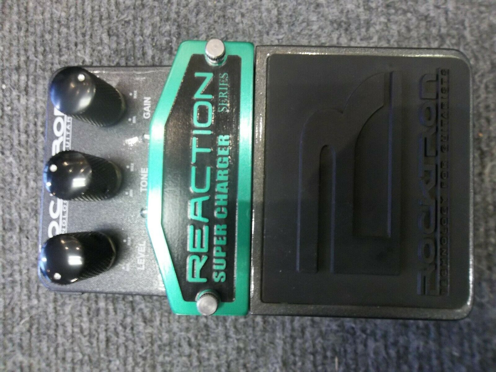 Rocktron Reaction Super Charger Overdrive. Boxed. Fast free secure shipping!