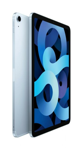 Apple iPad Air 4. Gen 64GB, Wi-Fi, 10,9 Zoll - Sky Blau WIE NEU ! Makellos - OVP