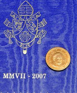 VATICAN 2007 : 1 cent BU.