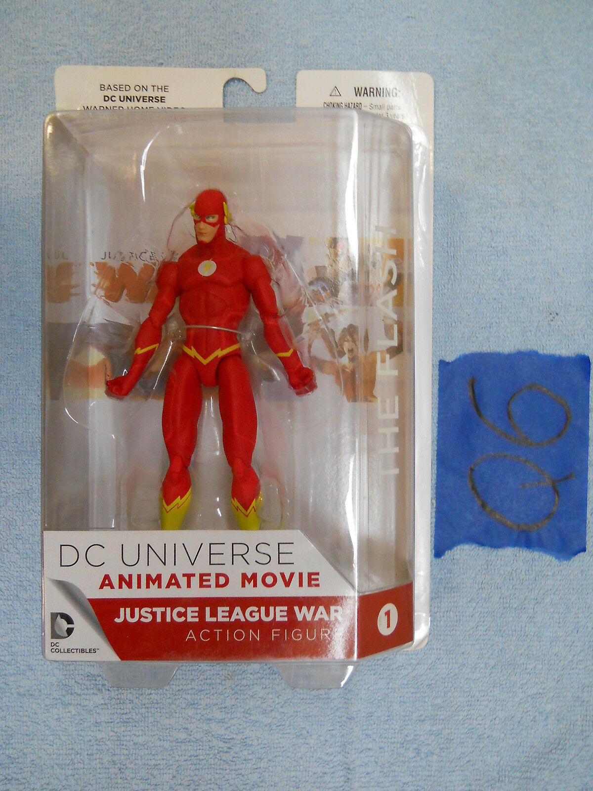 Q6_3 DC Direct Collectibles  Lot JUSTICE LEAGUE WAR THE FLASH Animated Movie Ver.  outlet in vendita