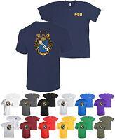Alpha Phi Omega Service Fraternity Bella + Canvas Shirt Coat Of Arms -