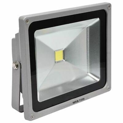 YATO COB LED Scheinwerfer Fluter Außen Strahler Flutlicht 50 W Silber YT-81806