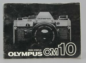 Olympus OM 10  Mode d'emploi  (Réf#R-023)