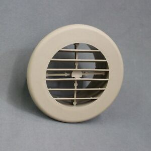 """RV Rotating Louvered Ceiling Wall Furnace AC Vent Register Grill fits 2/"""" Duct"""