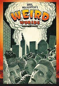 BASIL-WOLVERTON-WEIRD-WORLDS-ARTIST-EDITION-HARDCOVER