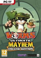 Worms Ultimate Mayhem  PC Brand New Sealed Fast Shipping