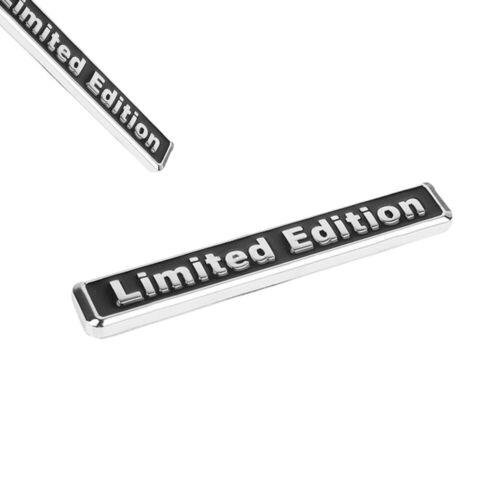1x 3D Metal LIMITED EDITION Car Auto Rear Lid Fender Trunk Sticker Emblem