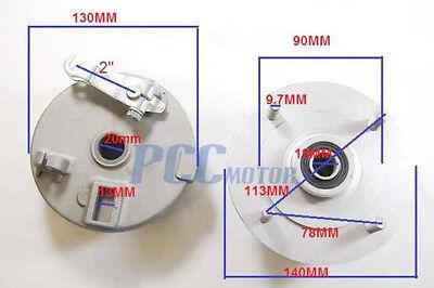 New Chinese ATV Quad 150 200cc Front Left Brake Shoe Drum Hub Assembly V BP34