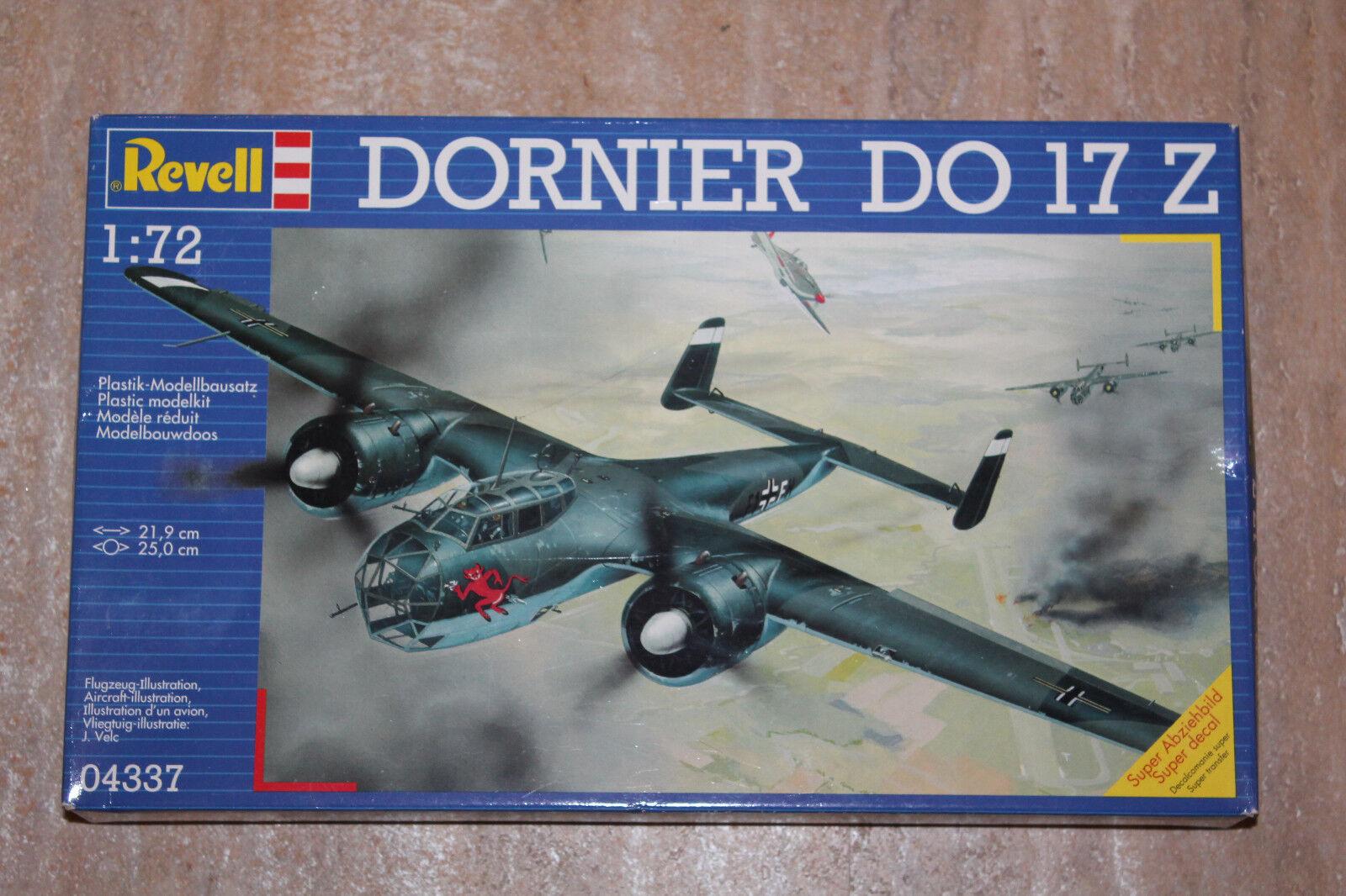 Revell 04655 Bausatz Kit in 1:72 Dornier Do 17 Z-2