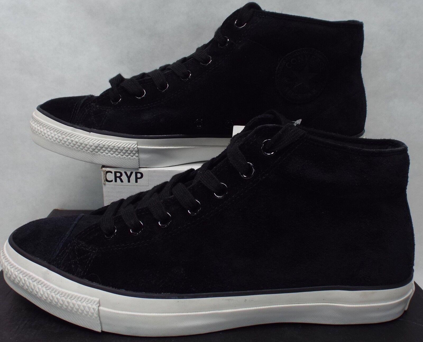 Zapatos De Cuero One NEW hombre 13 Converse One Cuero Star Pro Mediados Obsidiana Malta 75 155521 C 7603aa