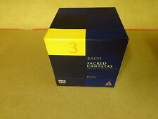 15-CD BOX BACH 2000 TELDEC DAS ALTE WERK VOLUME 3 / BACH - SACRED CANTATAS