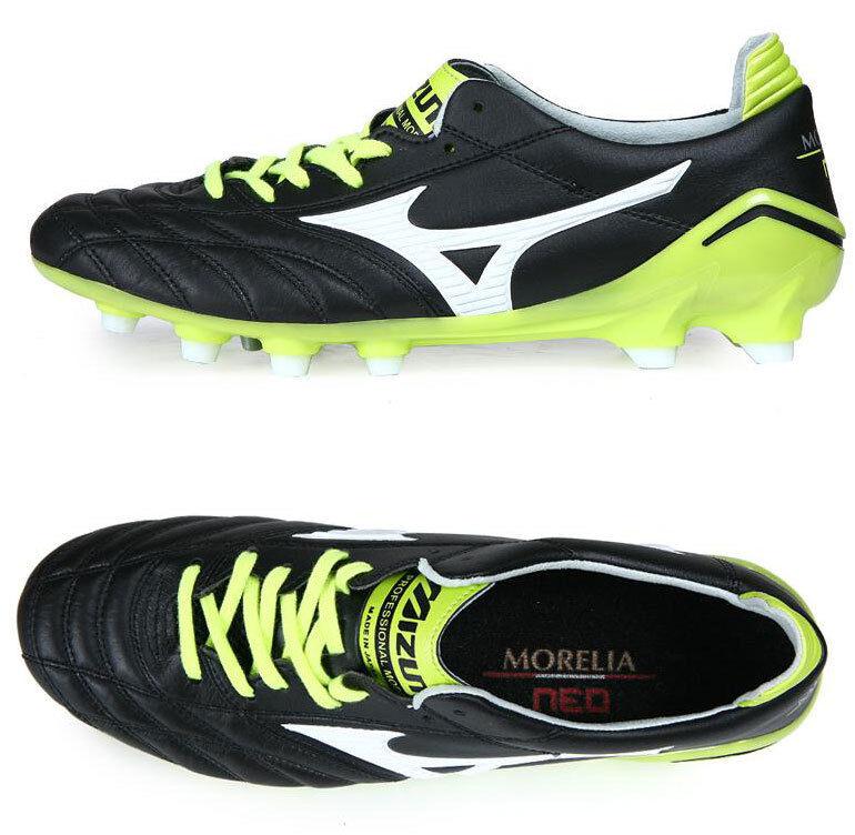 Mizuno Morelia Neo JAPAN P1GA141037 Soccer Football Cleats scarpe stivali
