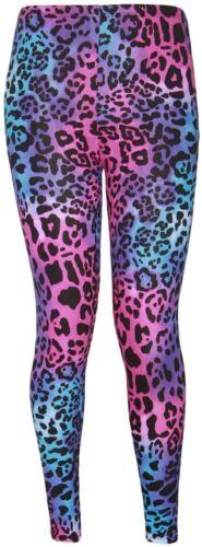 Femmes Grande Taille pleine longueur cheville imprimé stretch pantalon serré