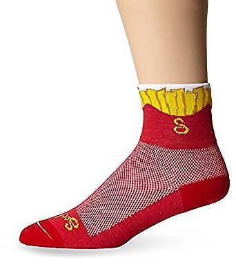 "Classic 3/"" Fries S//M Cycling//Running SockGuy Socks"
