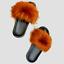 thumbnail 33 - Faux Fur Slides Fuzzy Fluffy Slippers Flat Soft Sandals Open Toe - US Seller