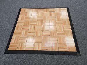 Image is loading Real-Wood-Practice-Dance-Floor-Tap-Dance-Ballet-