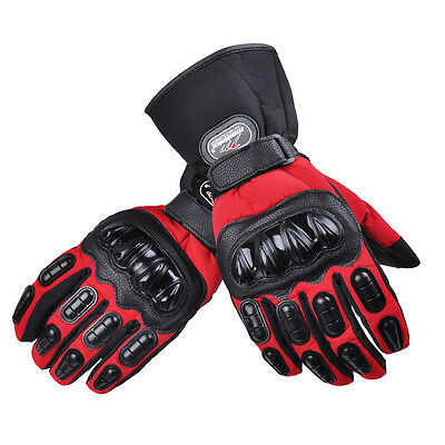 Motorcycle Gloves Moto Waterproof Winter warm Motorbike Motocross Racing