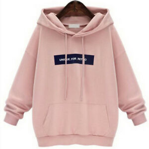 Casual Hoodies Sweatshirts For Women Print Thicken Long Sleeve Sweater Pullovers