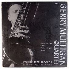 "GERRY MULLIGAN: EP 4-3 Pacific Jazz 7"" 45 w/ Chet Baker RARE 50s ORIG VG+ Super"