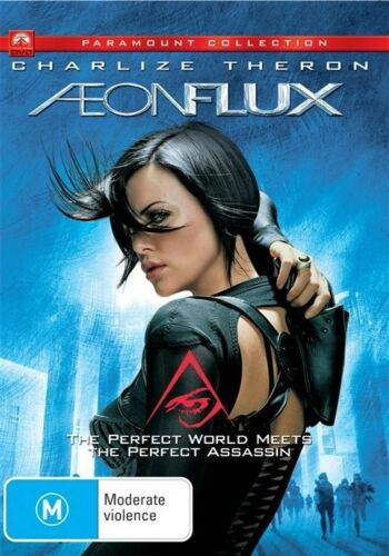 1 of 1 - AEON FLUX CHARLIZE THERON, REGION 4, NEW AND SEALED FREE POST!