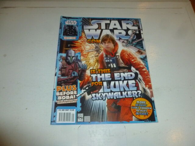 Star Wars The Comic - Vol 4 - No 21 - Date 01/2007 - UK Comic