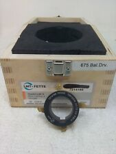 Lmt Fette Chamfer Cut M115 7214199 Dmax 675t Fd553 Used