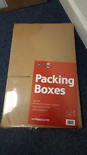 24 (6 Packs of 4) Brown Packing Box 300 x 220 x 220mm Postpak UB15020