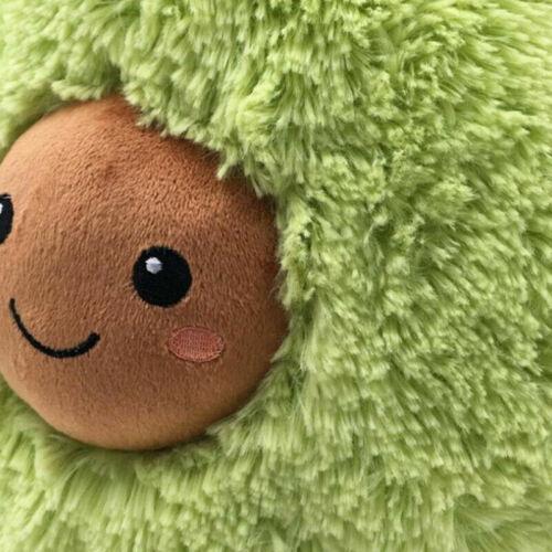 Gefüllte Puppen Polster Kissen Kind Weich Komfort Avocado Süß Plüsch Spielzeuge