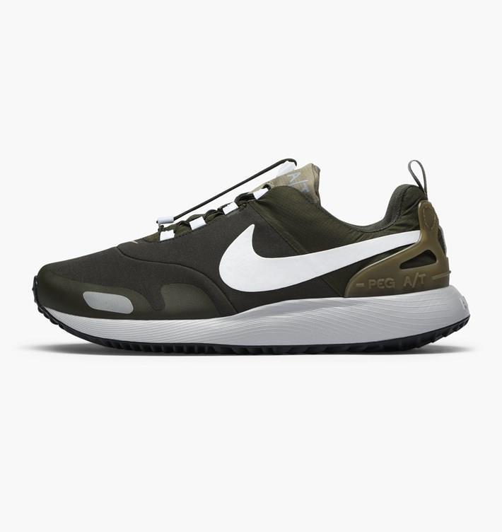 Nike air pegasus a / t tutto terreno acg 924469 302 / bianco / grigio verde carico cachi