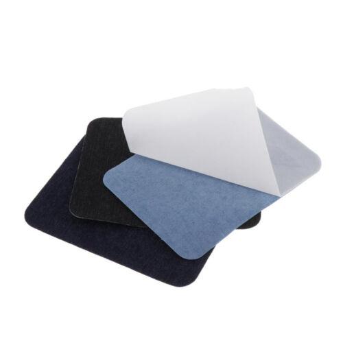 20pcs Stoff Patches zum aufbügeln rechteckig Aufbügelflicken
