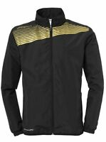 Uhlsport Kids Presentation Sports Training Football Zip Jacket Top Junior Black