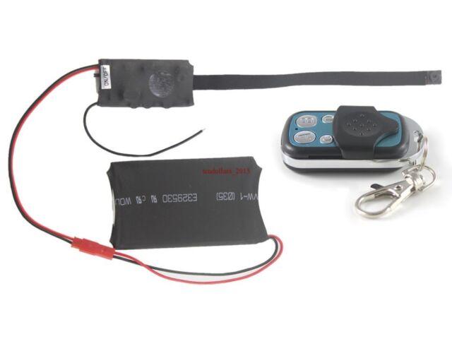 HD 1080P Spy Hidden Camera Camcorder DV DVR DIY Module with Remote Control We#