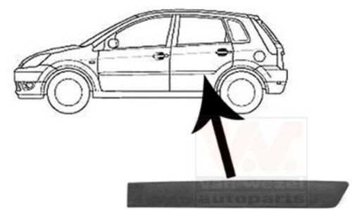 porte arrière gauche Ford Fiesta V JH /_ Décoration //protection barre JD /_