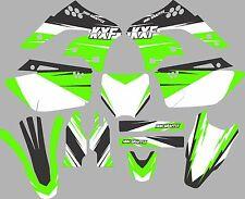 Graphic Kit for 2006-2008 Kawasaki KX250f KX 250f shrouds fender plastic decals