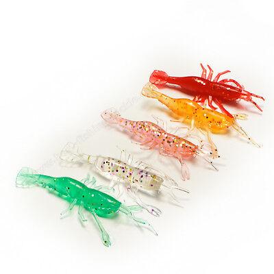 Fishing Soft Lures Crayfish Lobster Cod Sea Jig Head Pike Perch Drop Shot