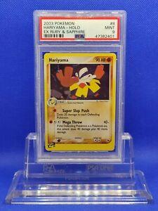 Hariyama-Holo-PSA-9-2003-EX-Ruby-amp-Sapphire-8-Pokemon