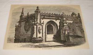 1879-Rivista-Incisione-il-Casa-Do-Capitulo