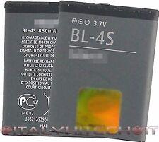 BATTERIA BL-4S PER NOKIA CAPACITA' 860mAh 3.2 Wh 3.7V