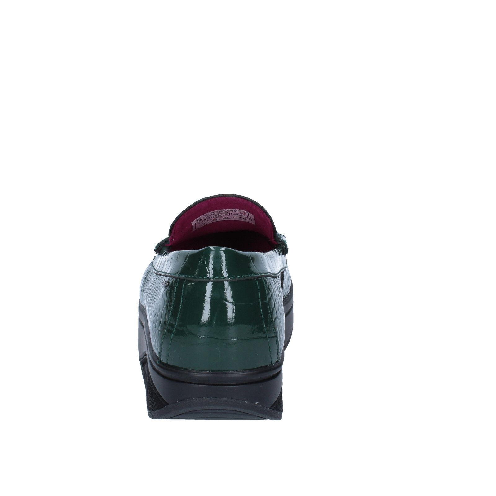 les chaussures de 3,5 (mbt) femmes des femmes (mbt) bz906-b mocassins de cuir vert dynamique d0e86e
