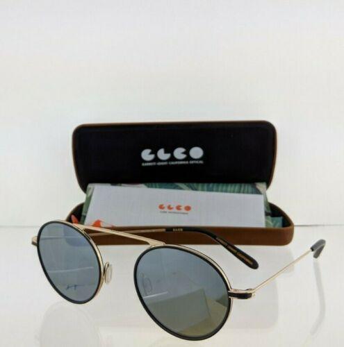 Brand New Authentic Garrett Leight Sunglasses ZENO MBK-G-MBK 48mm Frame