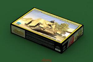 Hobbyboss-Model-1-35-80134-German-SturmPanzer-IV-Early-Sd-Kfz-166-Brummbar-Hot