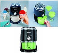 Electric Crusher Ice Shaver Machine Snow Cone Maker Icy Treat Hamilton Beach NEW