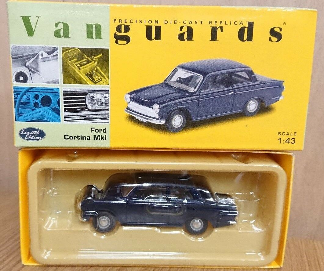 Corgi VA07301 Ford Cortina MkI Ambassador bluee Ltd Edition No. 0003 of 4000