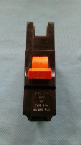 FEDERAL Electric STAB-Lok type CNA M5 Type 3 30 A Disjoncteur Fusible Interrupteur CNA1P30