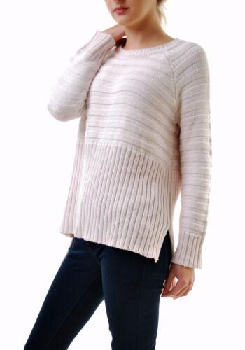 en 243 Bcf68 femmes pull Natalie tricot Ribber et rose pour tendre les citrons rose Pour l'amour XRwq66