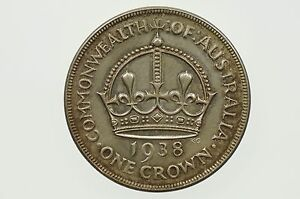 1938-One-Crown-George-VI-in-Almost-Uncirculated-Condition
