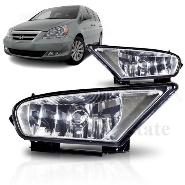 Fog Light Kit For 2003-2004 Honda Odyssey LH /& RH Clear Lens