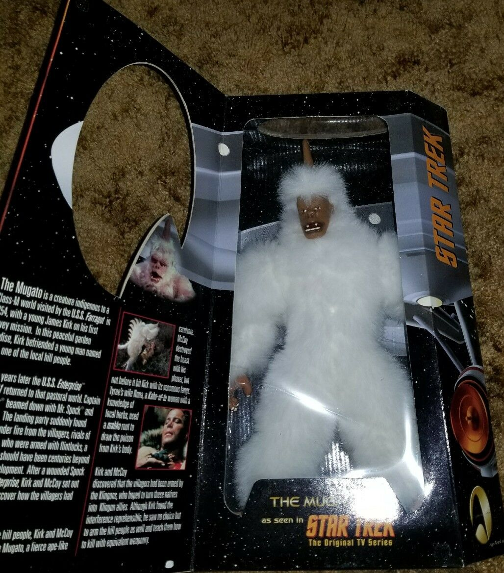 Playmates 1999 Star Star Star Trek TOS The Mugato 12 Inch Action Figure The Original Serie e71330