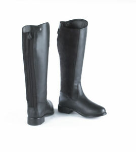 Just-Togs-Kingston-long-leather-zipup-horse-riding-boots-size-UK-7-Euro-41