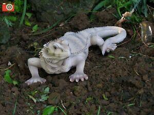 Brand New Lizard Garden Ornament Bearded Dragon Garden Ornament